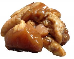 こんがりコロコロ焼き たれ味「生タイプ」。旨味と甘味が溢れる。
